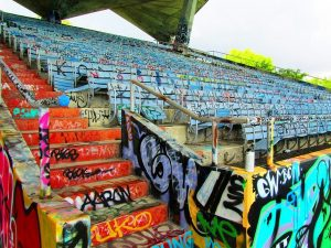 anti-graffiti film colorado stadium arena