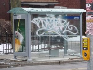 anti-graffiti window film colorado mass transit