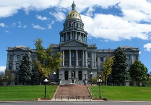uv blocking window film government building colorado secured