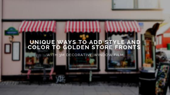 3m decorative window film golden co
