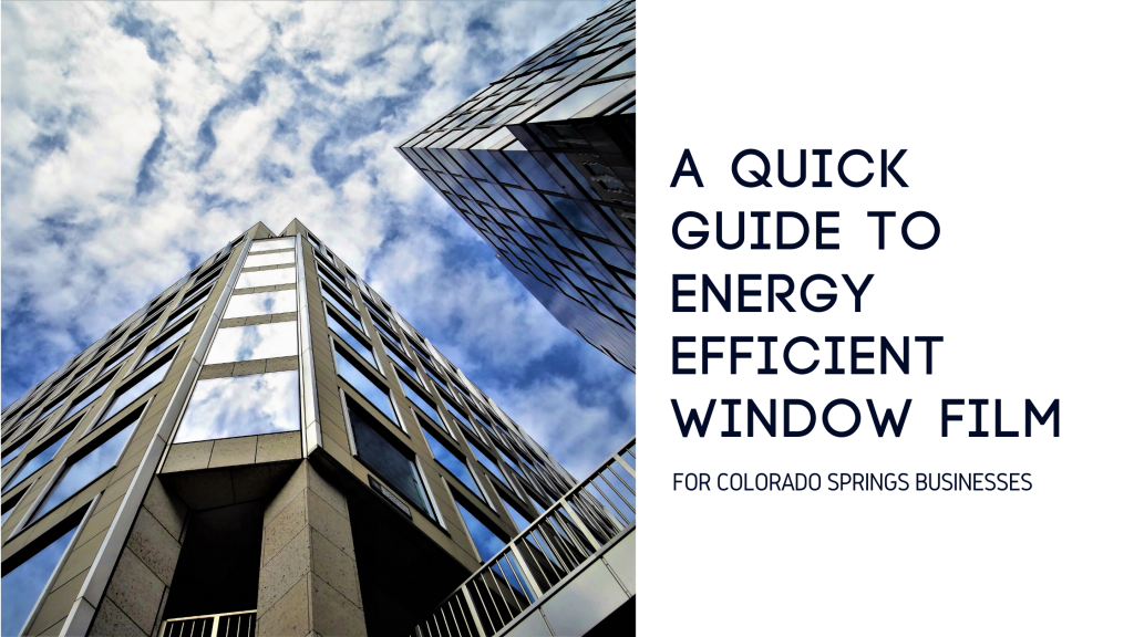 guide energy efficient window film