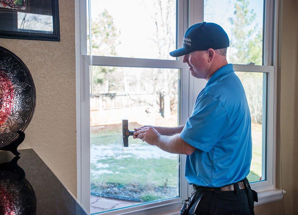 window film cleaning care colorado